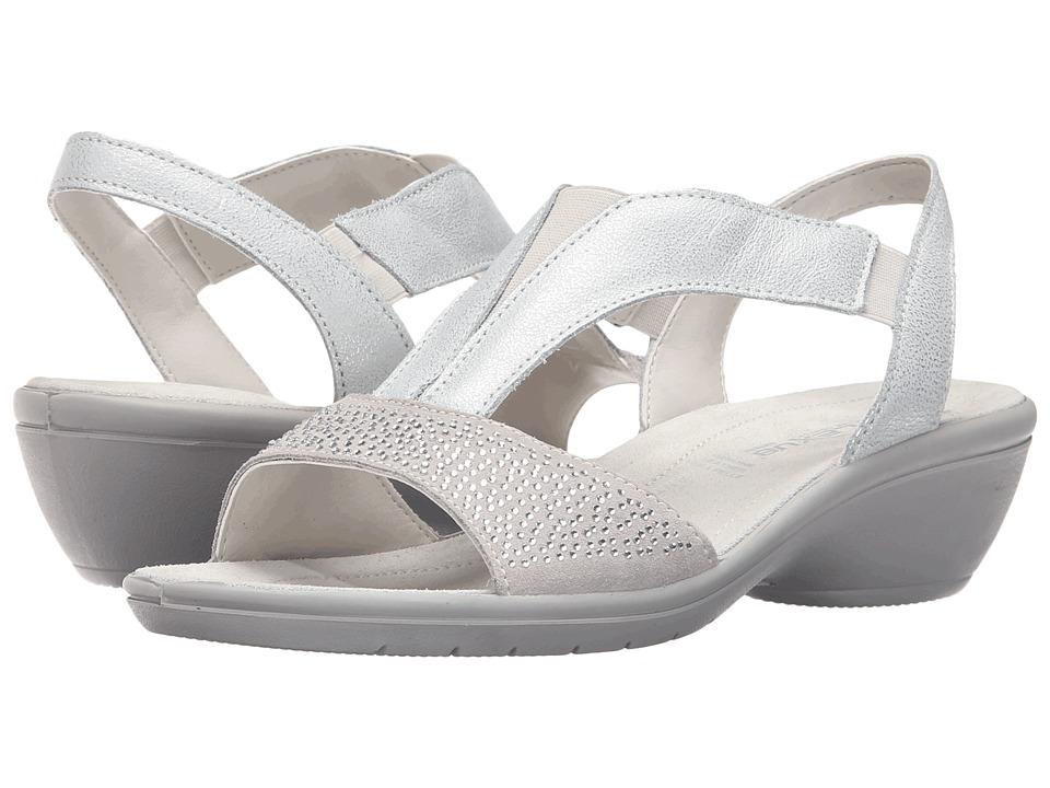 Flexus Risa Silver Womens Shoes