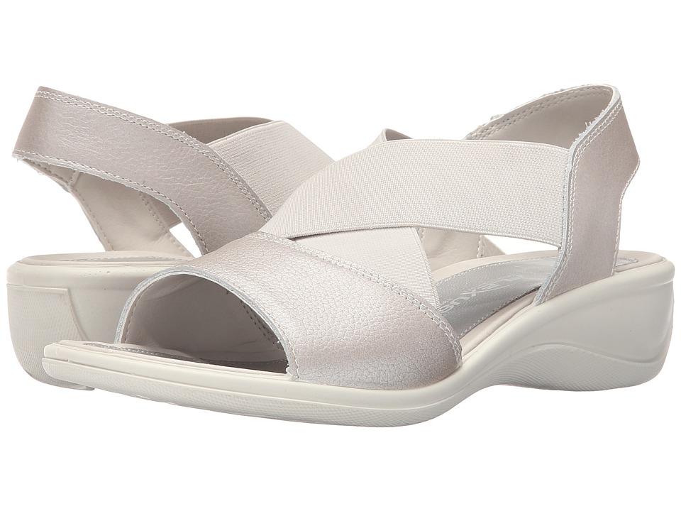 Flexus Emma Silver Womens Shoes