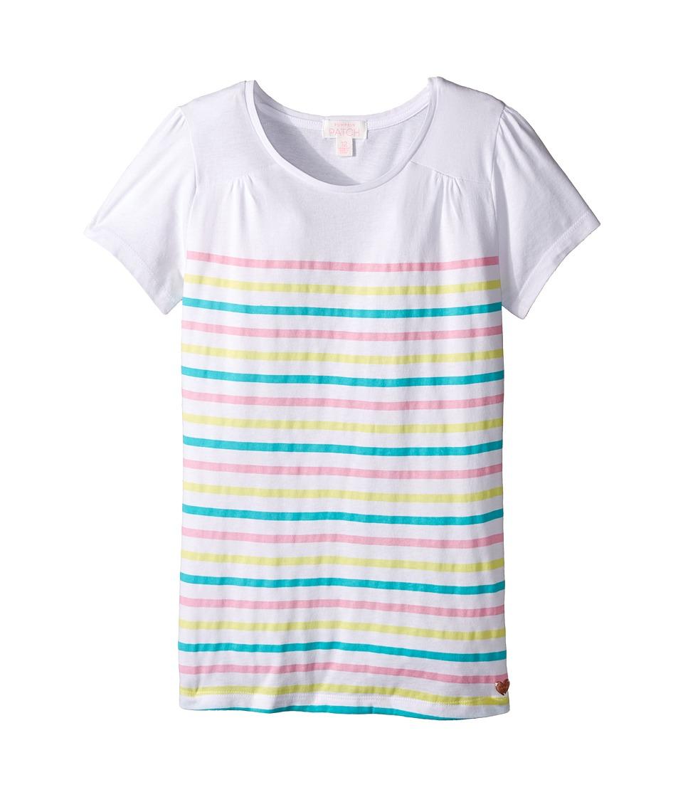 Pumpkin Patch Kids Ava Top Infant/Toddler/Little Kids/Big Kids Prism Pink Girls Short Sleeve Pullover