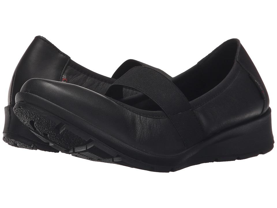 Flexus Italiq Black Womens Shoes