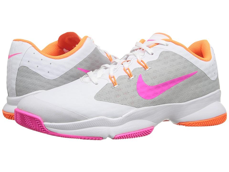 Nike Air Zoom Ultra (White/Metallic Silver/Total Orange/Pink Blast) Women