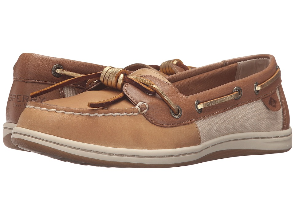 Sperry Top-Sider Barrelfish (Linen/Gold) Women