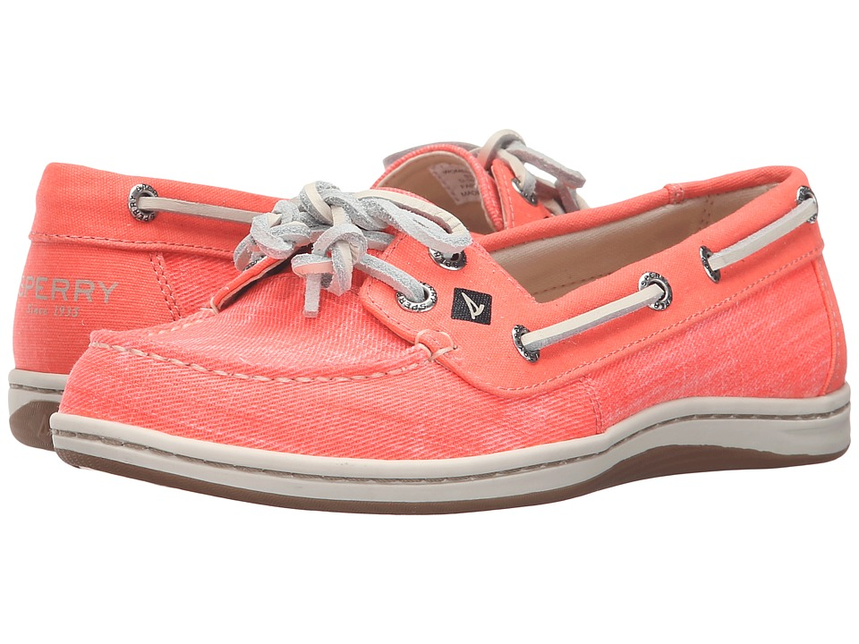 Sperry Top-Sider Firefish Ripstop Canvas (Bright Coral) Women