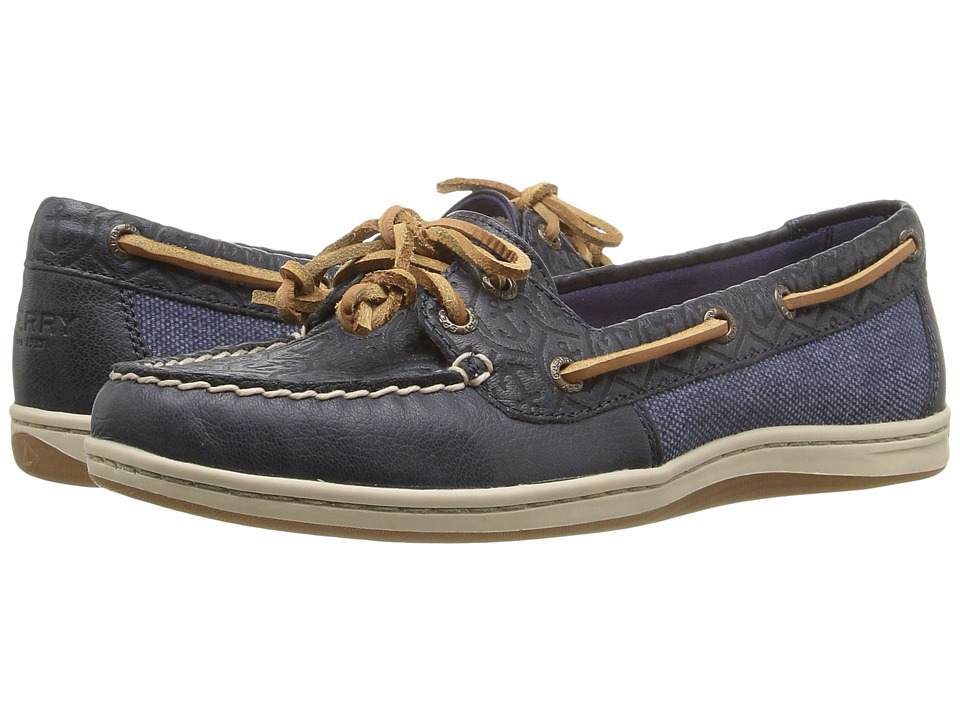Sperry Top-Sider Firefish Emboss (Navy) Women