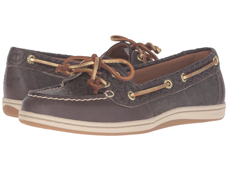 Sperry Top-Sider Firefish Emboss (Khaki) Women