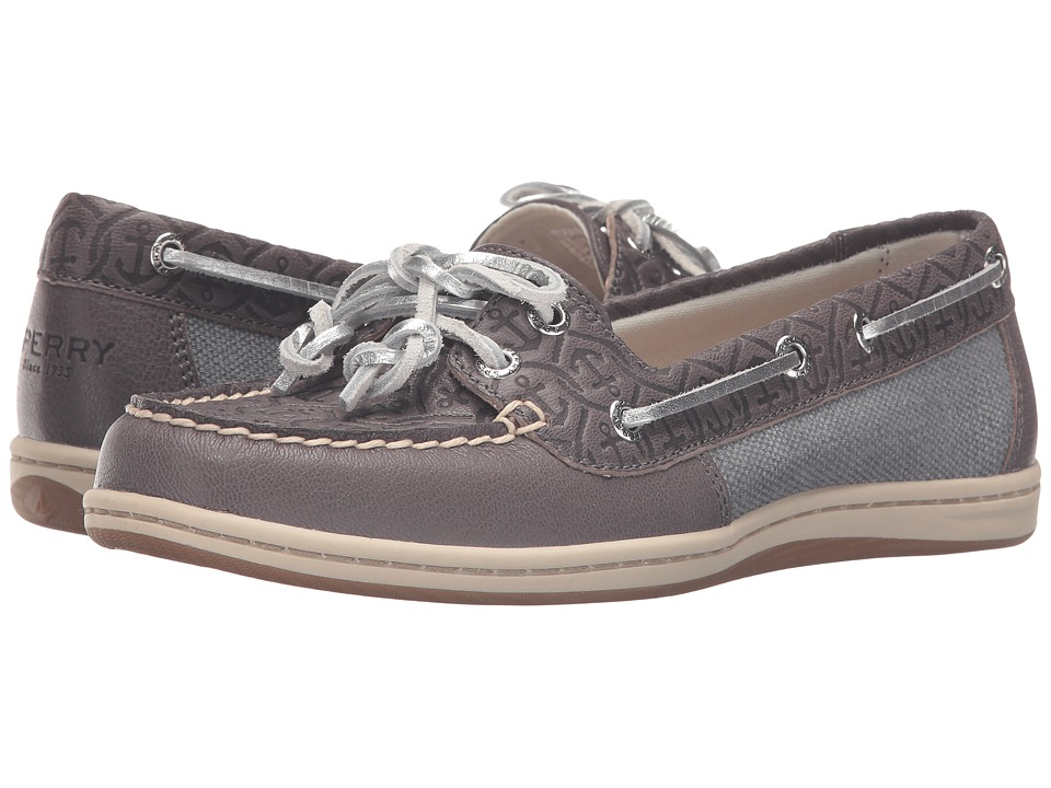 Sperry Top-Sider Firefish Emboss (Medium Grey) Women