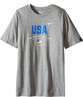 Nike Kids - USA Verbiage Tee (Little Kids/Big Kids)