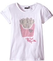 IKKS - Tee with Sequined French Fries on Front (Little Kids/Big Kids)