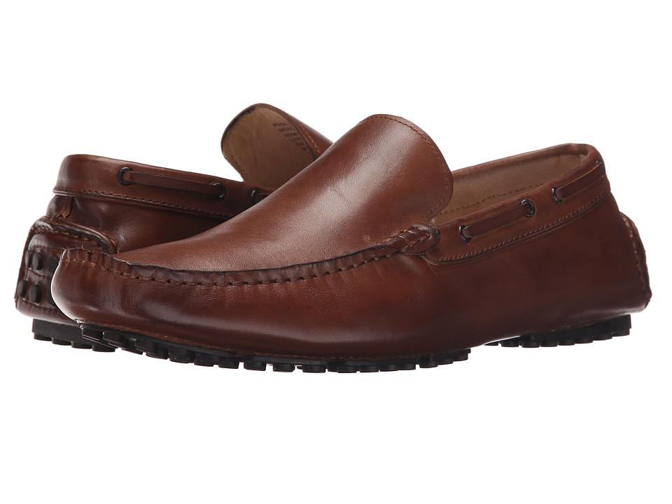Kenneth Cole New York Peer Pressure Cognac Mens Slip on Shoes