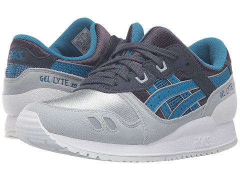 Onitsuka Tiger Kids by Asics Gel-Lyte III GS (Big Kid) - Indian Ink/Sea Port