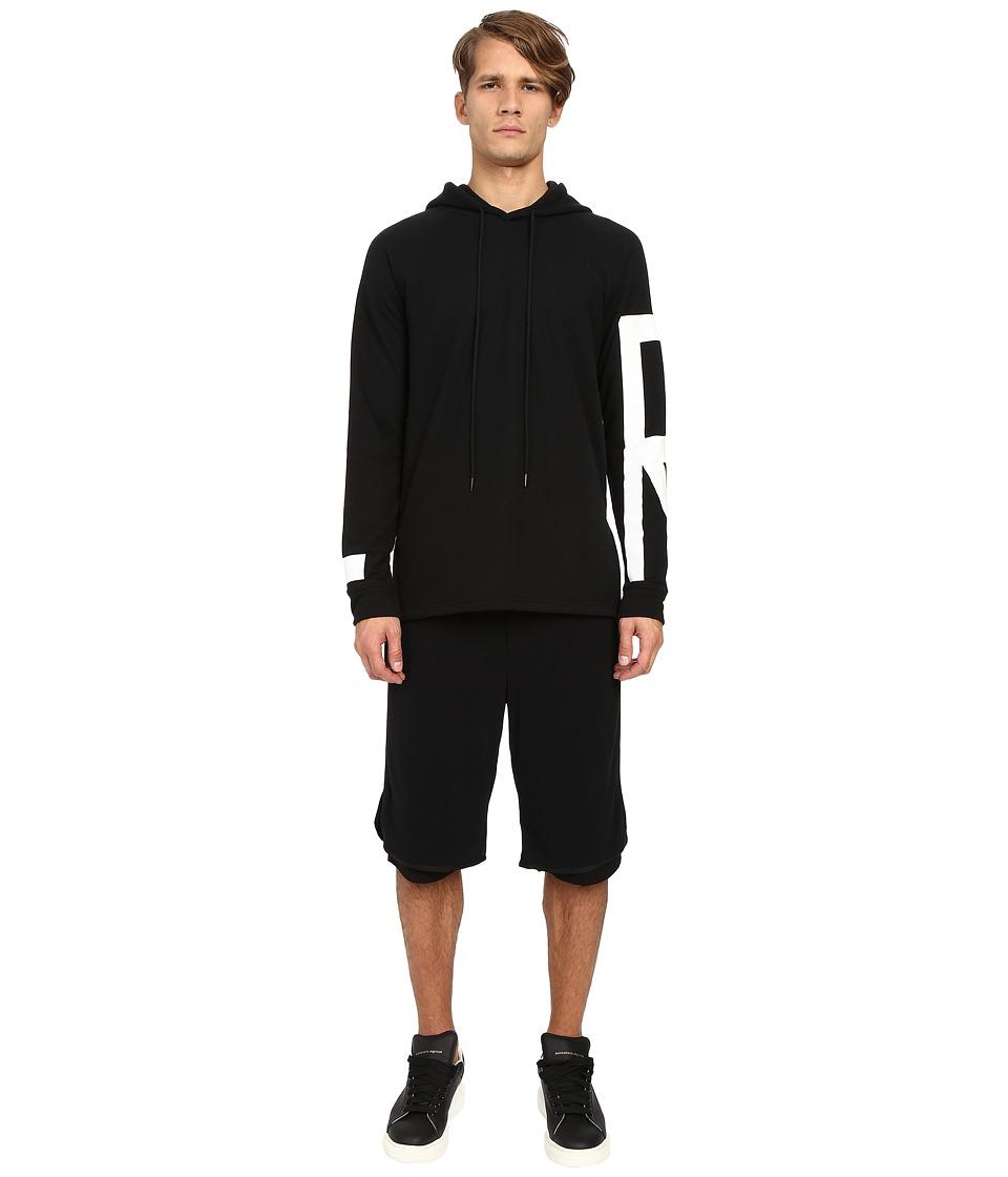 DBYD Lone Sizer Hoodie Black Mens Sweatshirt