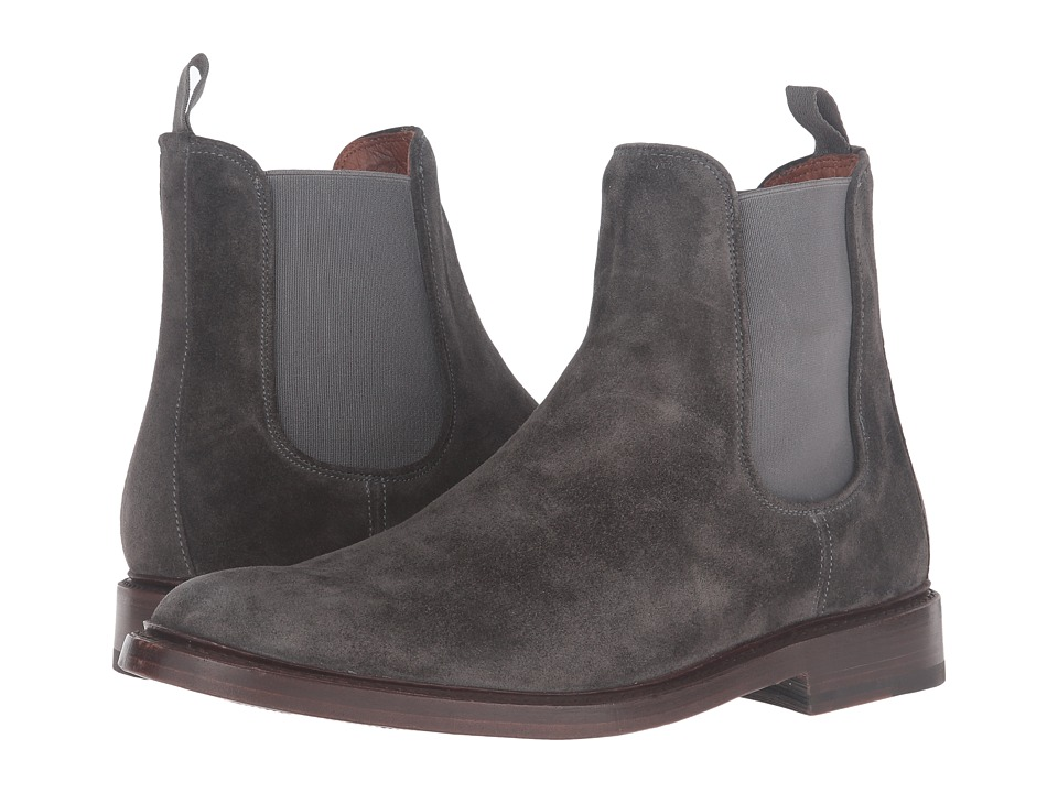 Frye - Jones Chelsea (Charcoal Oiled Suede) Men