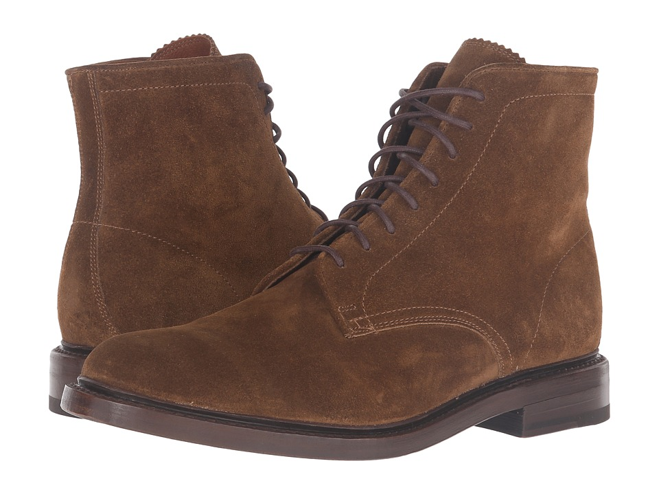 Frye - Jones Lace-Up (Chestnut Oiled Suede) Men
