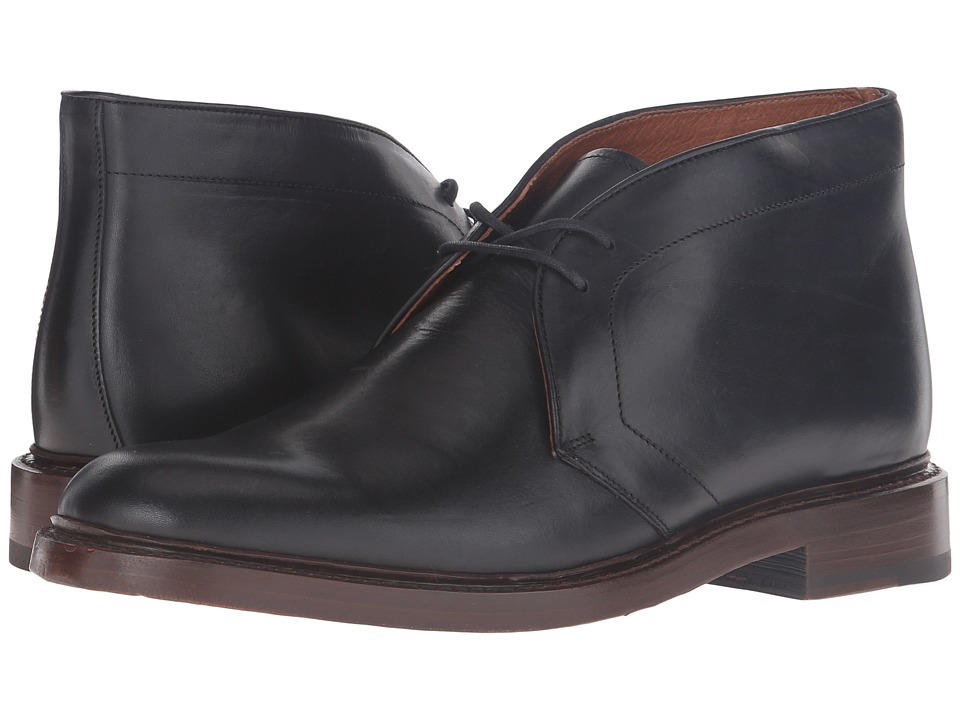 Frye - Jones Chukka (Black Vintage Veg Tan) Men