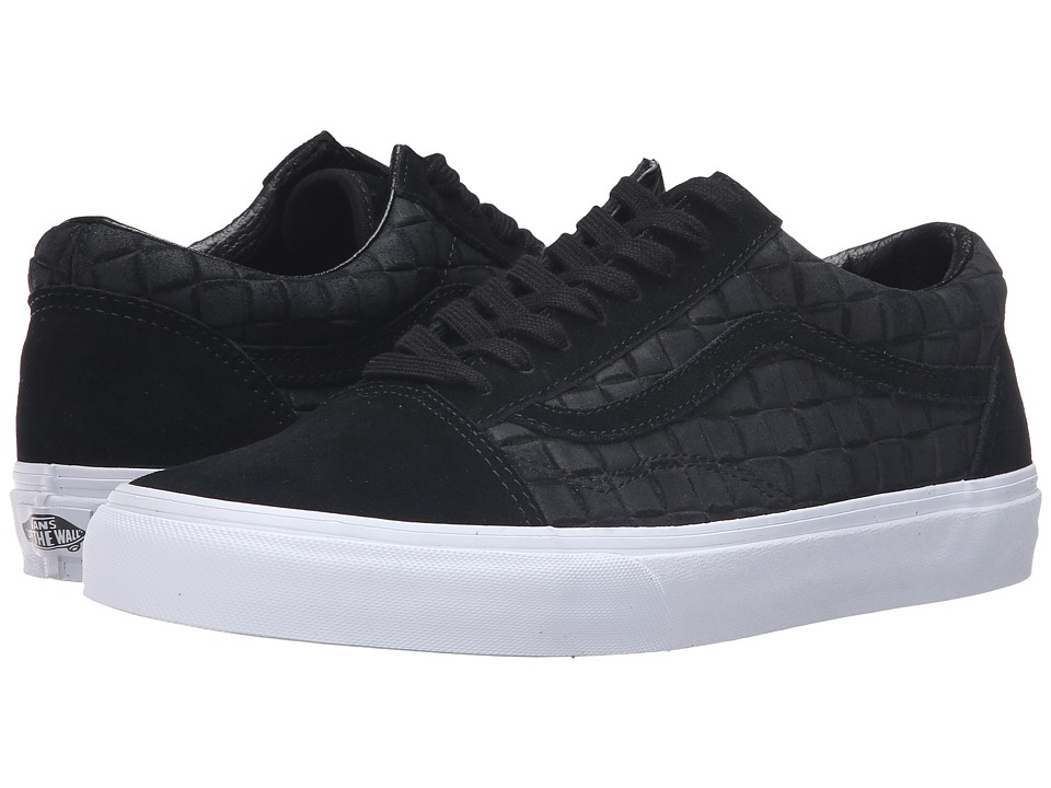 Vans Old Skool ((Suede Checkers) Black) Skate Shoes
