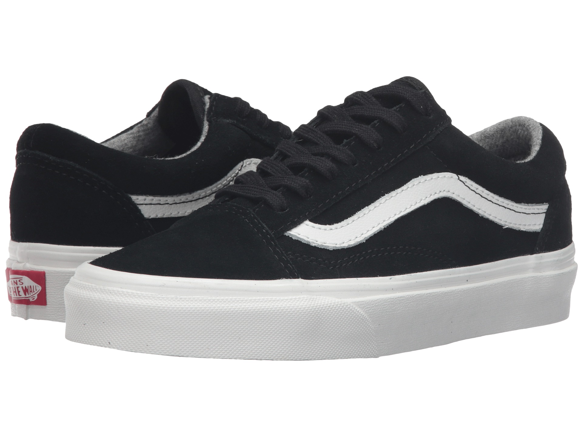 vans old skool premium leather true white. Black Bedroom Furniture Sets. Home Design Ideas
