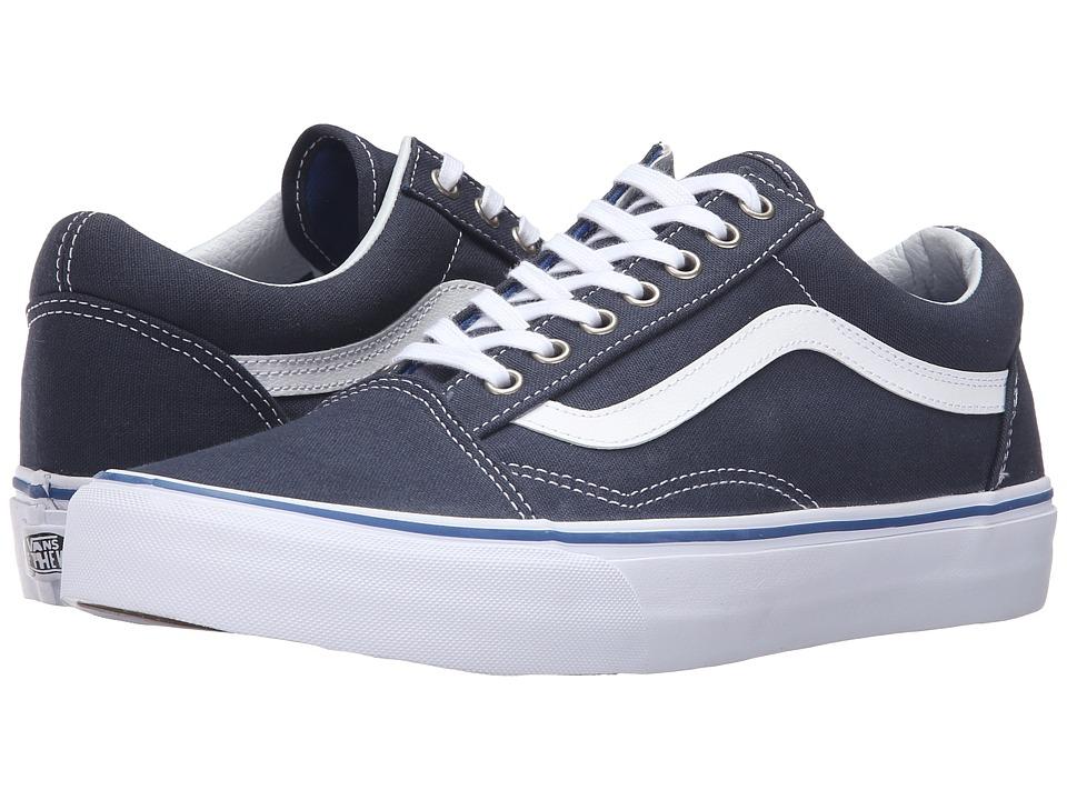 Vans - Old Skool (Midnight Navy/True White) Skate Shoes