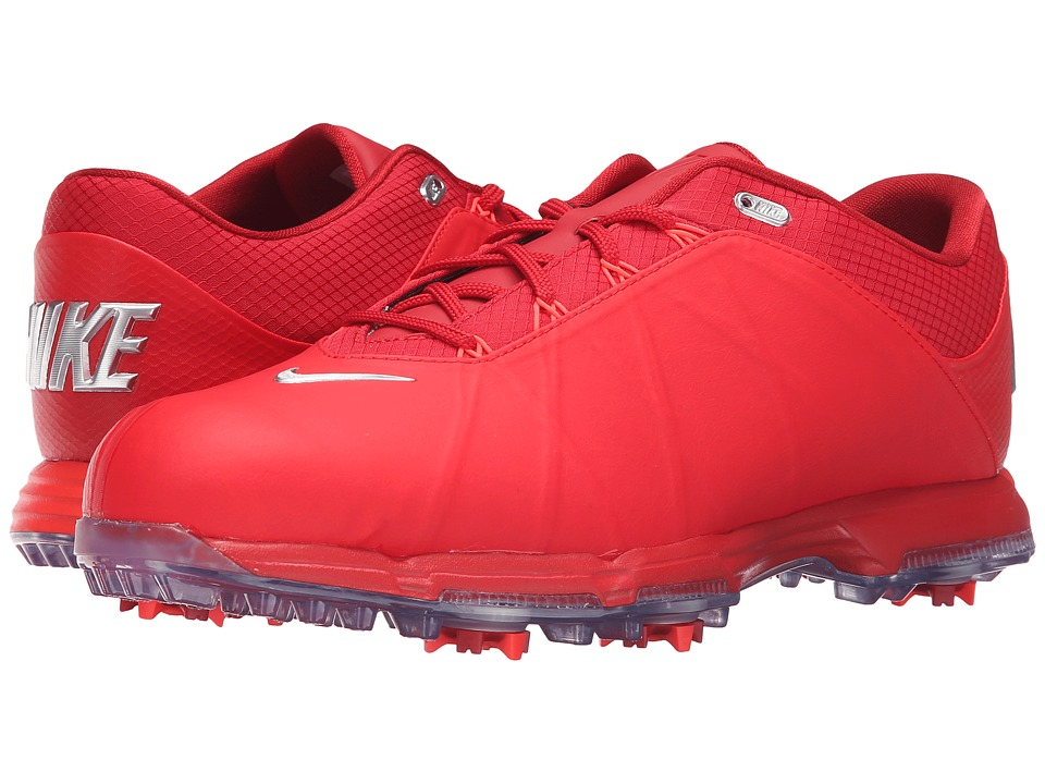 Nike Golf - Nike Lunar Fire (University Red/Metallic Silver/Gym Red) Men