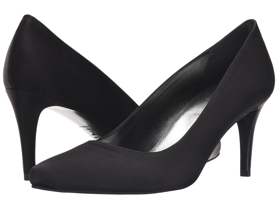 Stuart Weitzman Bridal amp Evening Collection Tessa Black Satin High Heels
