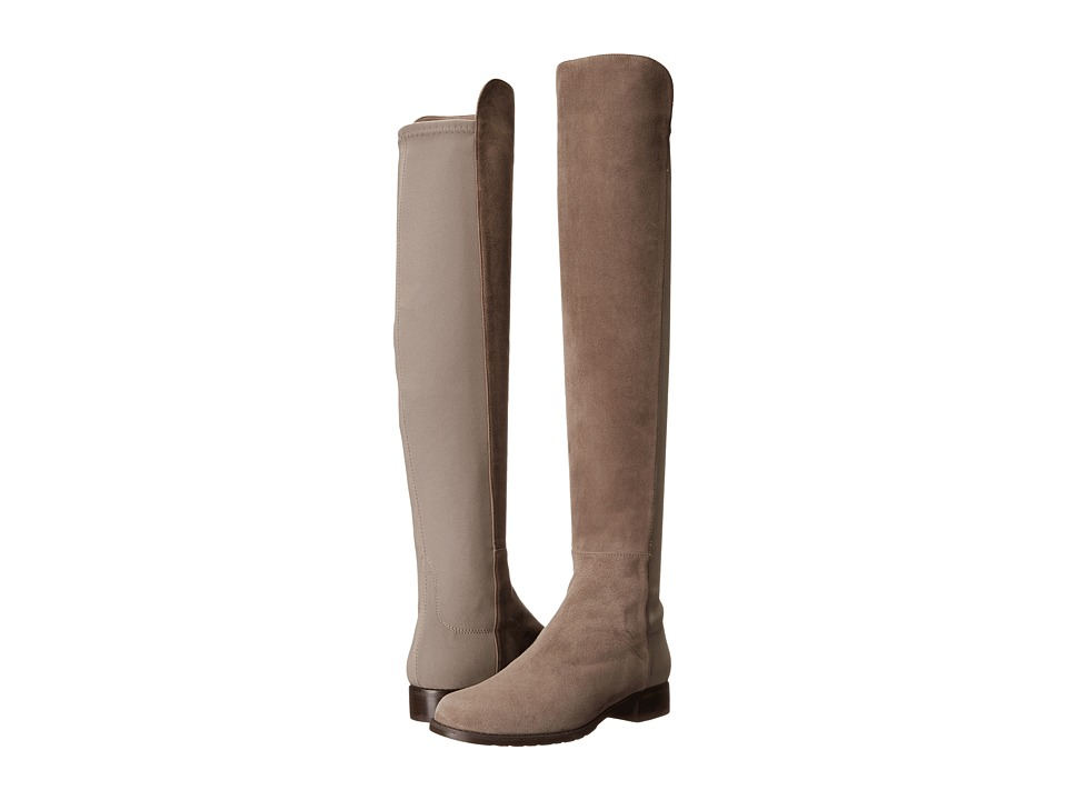 Stuart Weitzman 5050 (Praline Suede) Women's Pull-on Boots