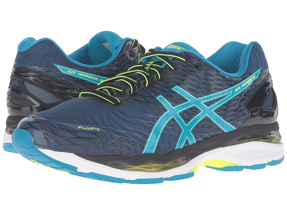 ASICS Gel-Nimbus 18 (Poseidon/Blue/Yellow) Men