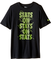 Nike Kids - Cotton Stats On Stats Shirt (Little Kids/Big Kids)