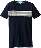 Appaman Kids - Super Soft Trench Tee with Stripe Detail (Toddler/Little Kids/Big Kids)