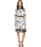 Prabal Gurung - Cold Shoulder Floral Dress