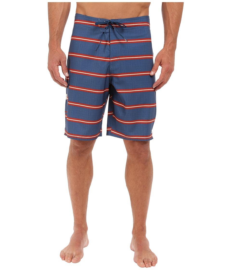 Quiksilver Waterman Harvest Boardshorts Ensign Blue Mens Swimwear