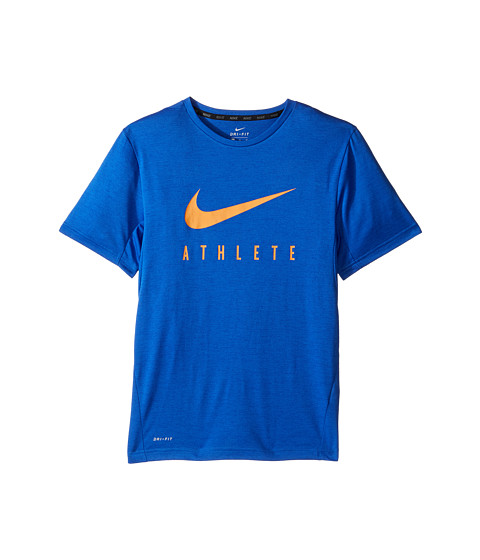 Nike Kids Short Sleeve Training Top (Little Kids/Big Kids)