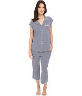 Eileen West - Notch Collar Capris Pajama