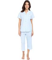 Eileen West - Notch Collar Capris Pajama