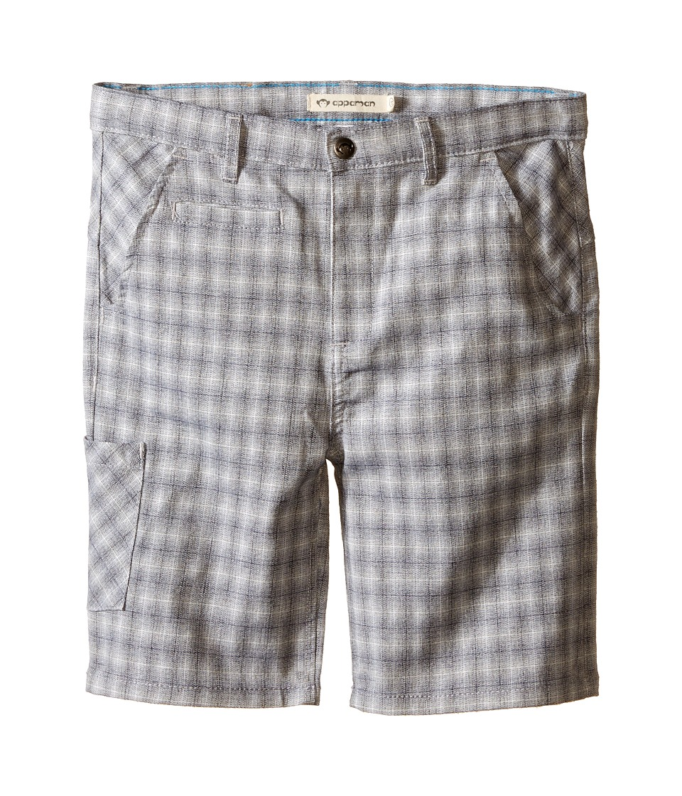 Appaman Kids Classic Soft Cotton Seaside Shorts Toddler/Little Kids/Big Kids Flint Plaid Boys Shorts