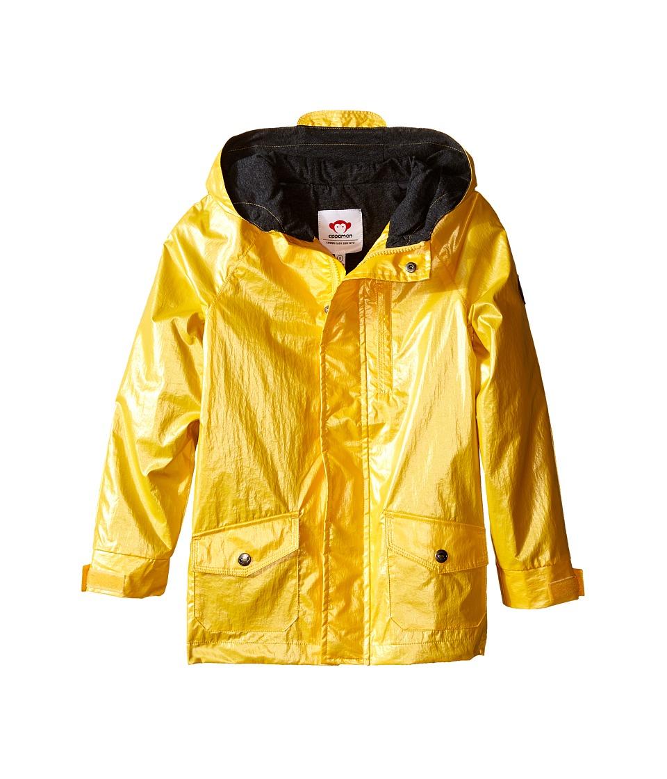 Appaman Kids - Safari Rain Jacket with Cotton Lining and Hood (Toddler/Little Kids/Big Kids) (Freesia) Boy