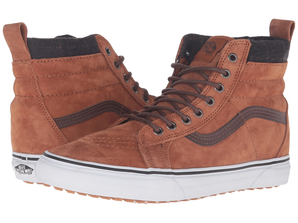 Vans SK8-Hi MTE ((MTE) Glazed Ginger/Plaid) Skate Shoes