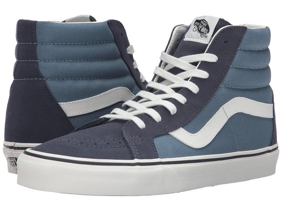Vans SK8-Hi Reissue ((2 Tone) Parisian Night/Blue Mirage) Skate Shoes