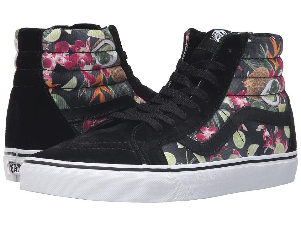 Vans SK8-Hi Reissue ((Lime in the Coconut) Black) Skate Shoes