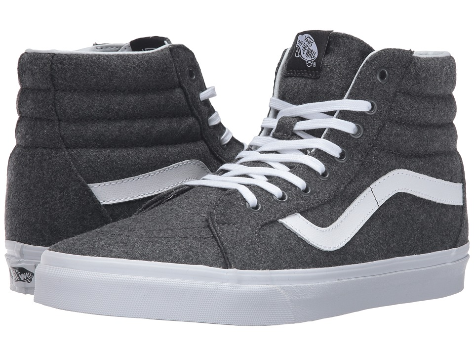 Vans SK8-Hi Reissue ((Varsity) Charcoal/True White) Skate Shoes