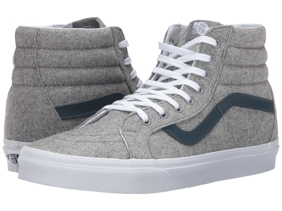 Vans SK8-Hi Reissue ((Varsity) Gray/True White) Skate Shoes
