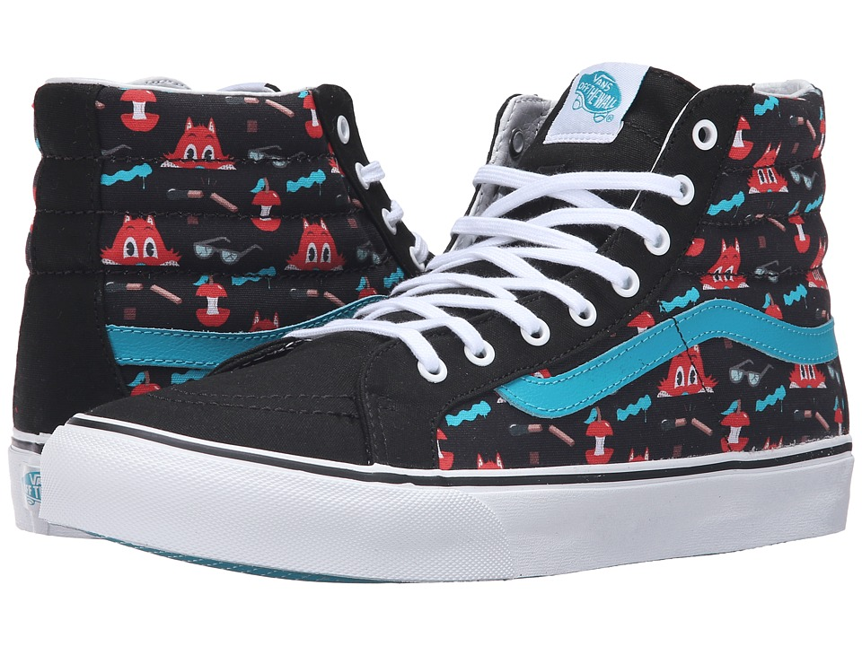 Vans SK8-Hi Slim ((Dabs Myla) Multi/Black) Skate Shoes