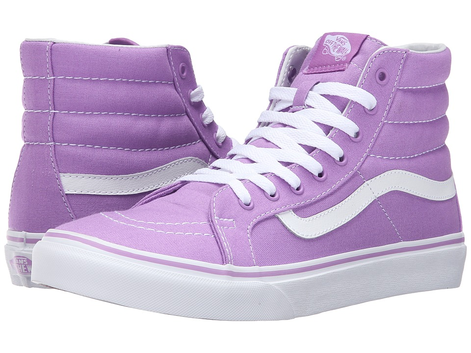 SK8-Hi Slim (African Violet/True White) Skate Shoes
