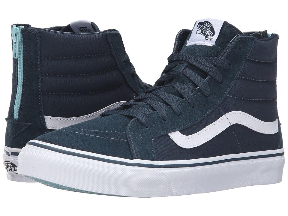 SK8-Hi Slim Zip ((Pop) Midnight Navy) Skate Shoes