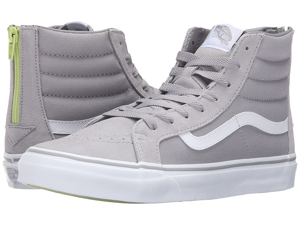 SK8-Hi Slim Zip ((Pop) Silver Sconce) Skate Shoes