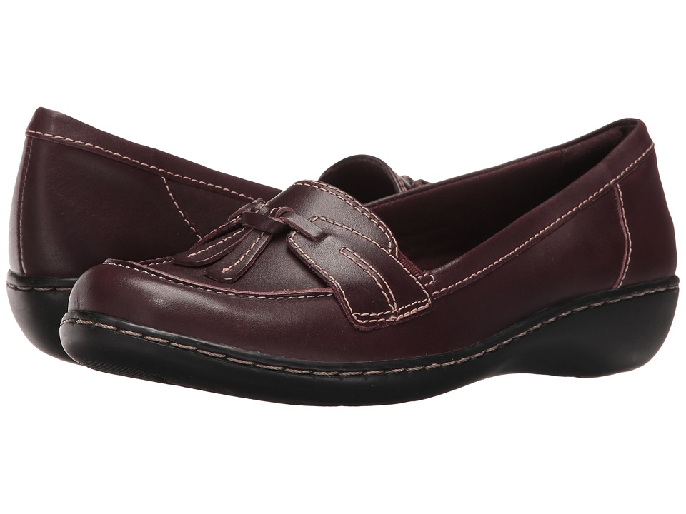 Clarks Ashland Bubble (Burgundy) Slip-On Shoes