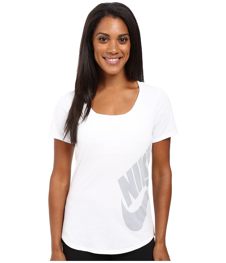 Nike Futura Scoop (White/White/Wolf Grey) Women