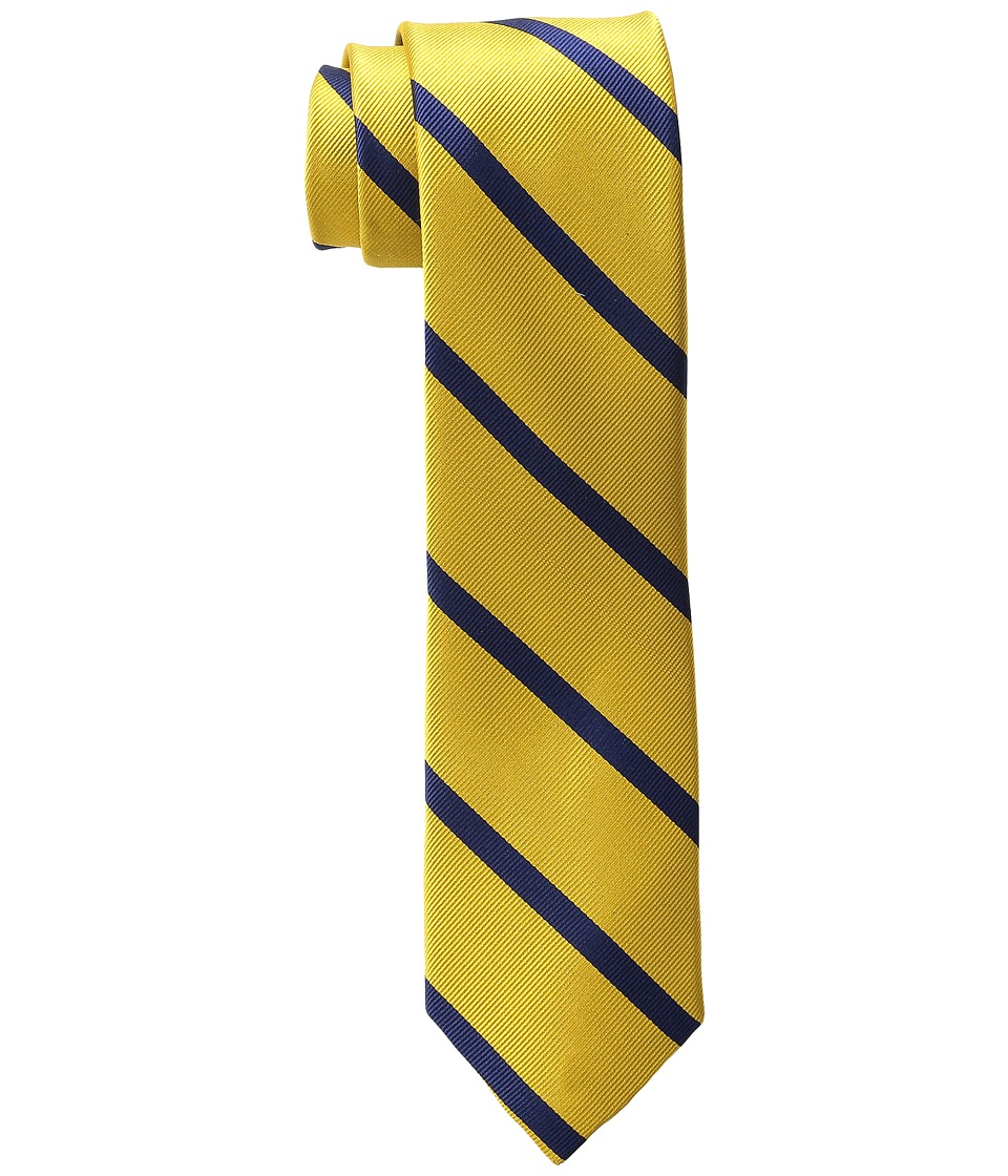 Tommy Hilfiger Bronxville Stripe Yellow Ties