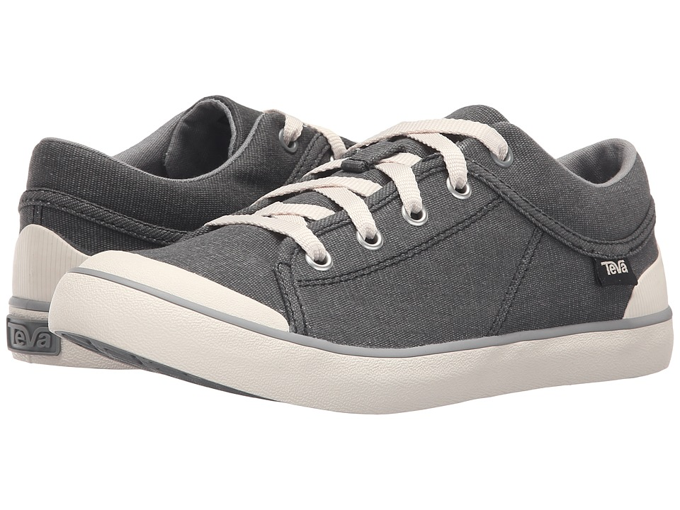 Teva Freewheel Washed Canvas (Black/Grey) Women's Shoes