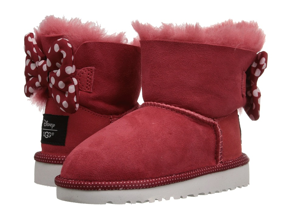UGG Kids Sweetie Bow Toddler/Little Kid Red Girls Shoes