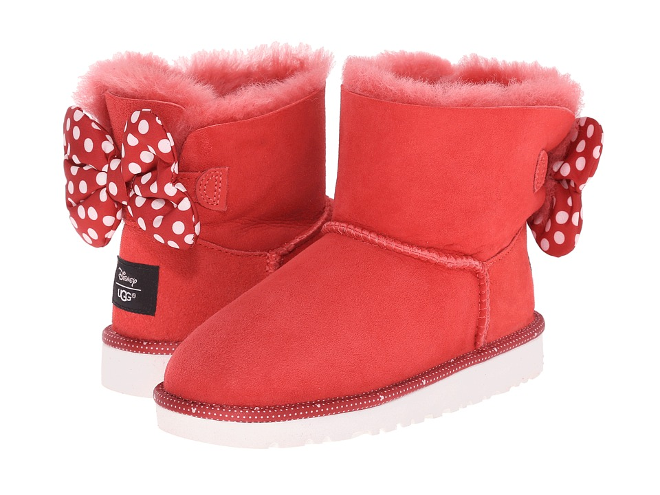 UGG Kids Sweetie Bow Little Kid/Big Kid Red Girls Shoes