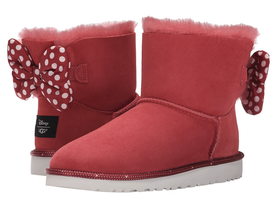 UGG Kids Sweetie Bow Big Kid Red Girls Shoes